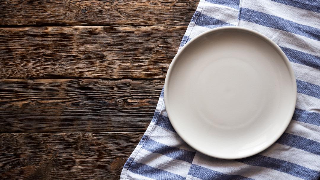 Fasten und Multiple Sklerose - Ein leerer Teller