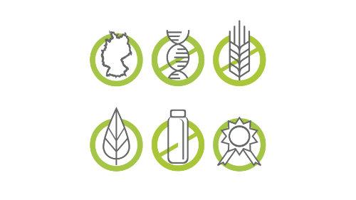 Navimol Siegel zur Reinheit der Produkte