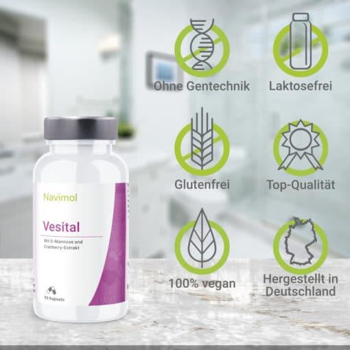 Vorteile Vesital Übersicht