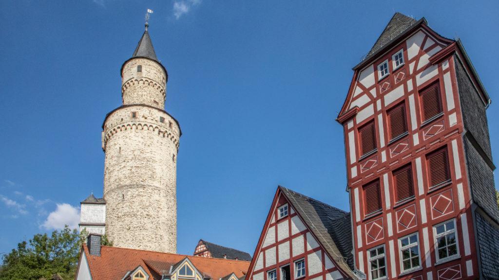 Idstein im malerischen Taunus in unmittelbarer Nähe zu Frankfurt am Main